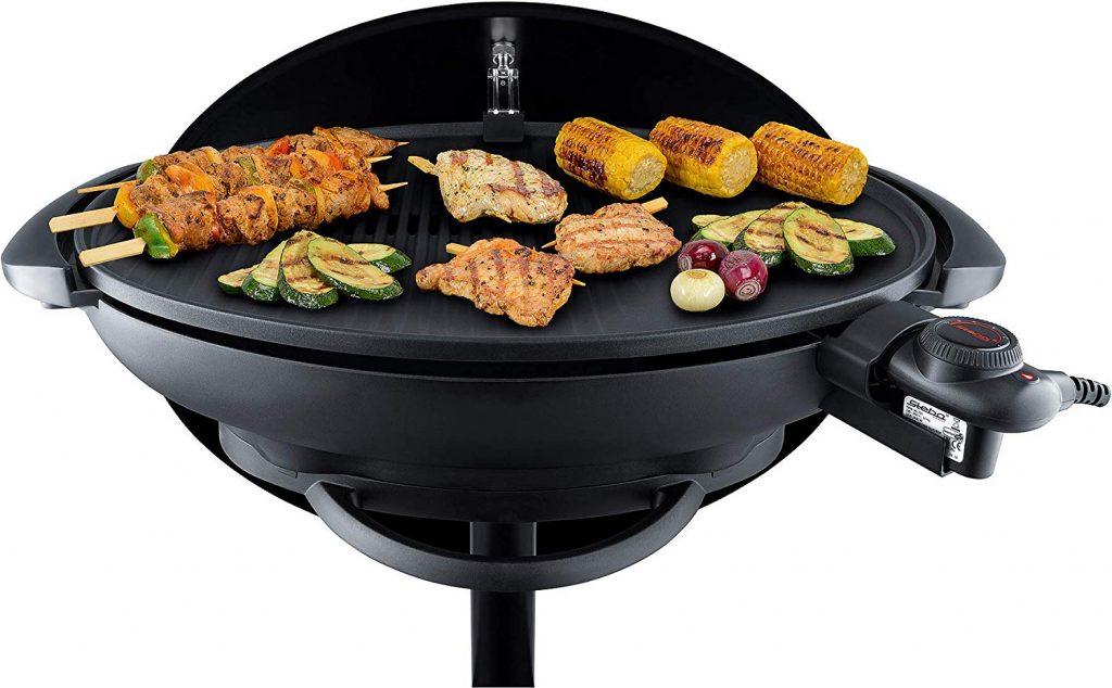 Barbecue a Colonna con Coperchio Steba VG 350 parte interna